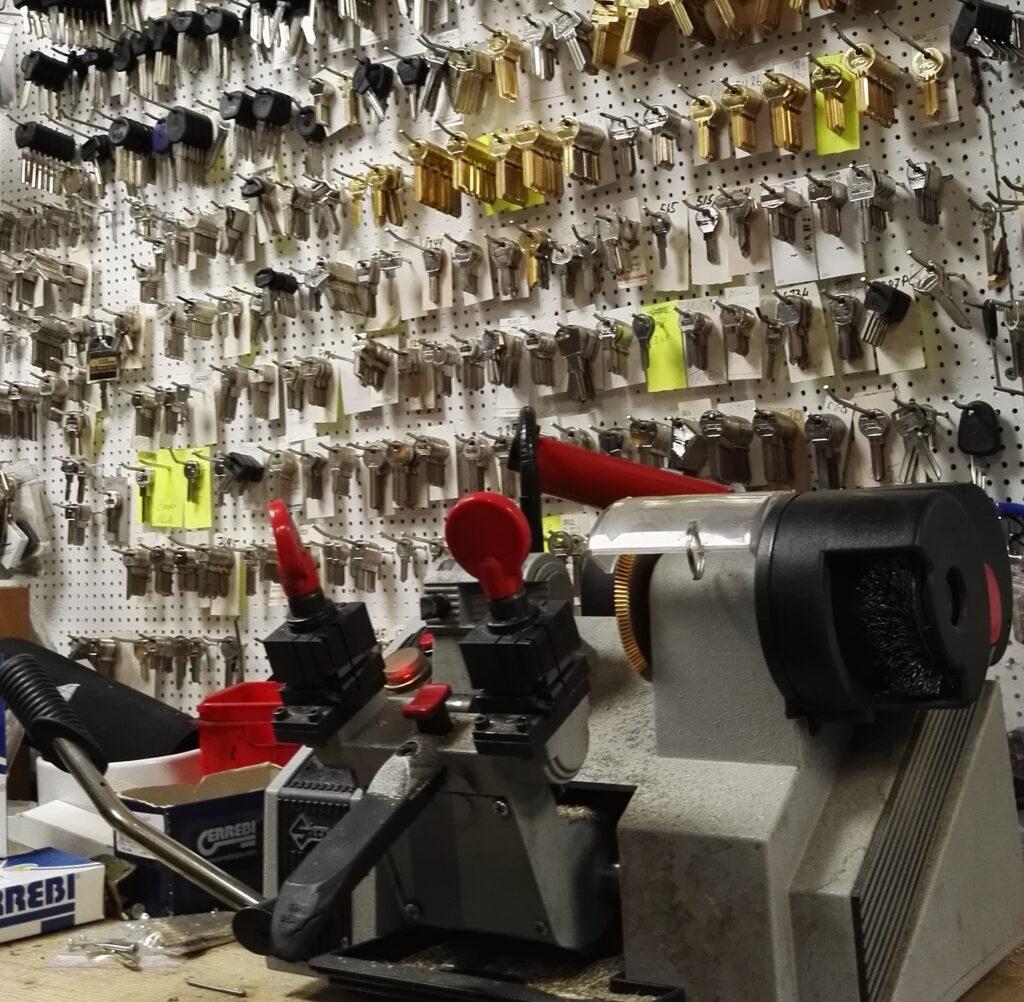 Kopi af nøgler i Randers